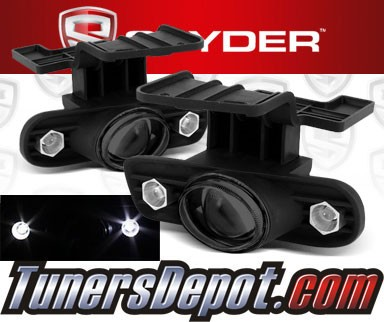 Spyder® Projector Fog Lights (Smoke) - 99-02 Chevy Silverado