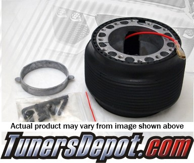 TD 6 Bolt Steering Wheel Adapter Hub - 83-91 Honda Prelude