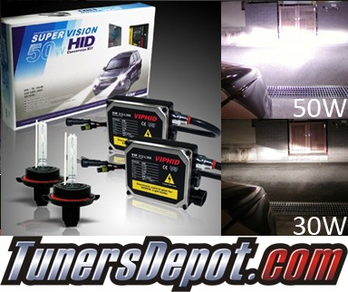 TD® 6000K HID Hi Watt Kit (Low Beam) - 2009 Chrysler Aspen (H13/9008)