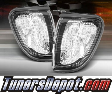 TD® Clear Corner Lights (Clear) - 01-04 Toyota Tacoma