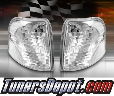 TD® Clear Corner Lights (Clear) - 02-05 Ford Explorer 4dr