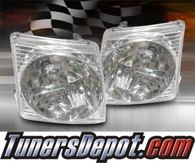 TD® Clear Corner Lights (Clear) - 02-05 Ford Explorer Sport Trac