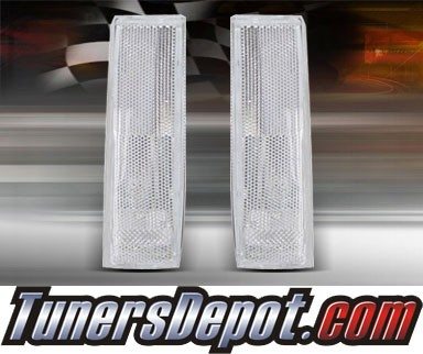 TD® Clear Corner Lights (Clear) - 82-93 Chevy S-10