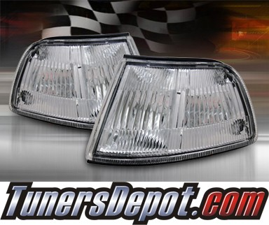 TD® Clear Corner Lights (Clear) - 88-89 Honda Civic 4dr