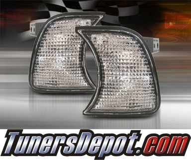 TD® Clear Corner Lights (Clear) - 88-96 BMW 530i E34
