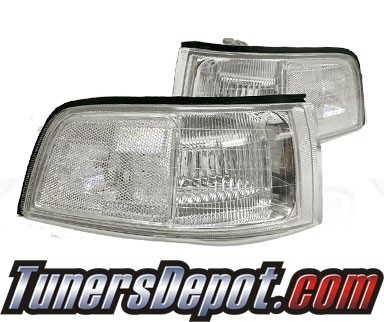 TD® Clear Corner Lights (Clear) - 91-95 Acura Legend Coupe 2dr