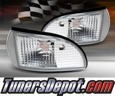 TD® Clear Corner Lights (Clear) - 91-96 Chevy Impala