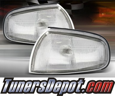 TD® Clear Corner Lights (Clear) - 92-94 Toyota Camry
