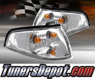 TD® Clear Corner Lights (Clear) - 93-96 Ford Escort