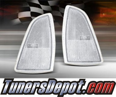 TD® Clear Corner Lights (Clear) - 94-97 Chevy S-10