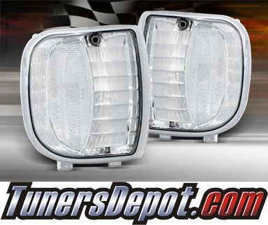 TD® Clear Corner Lights (Clear) - 94-98 Mazda Pickup B2200