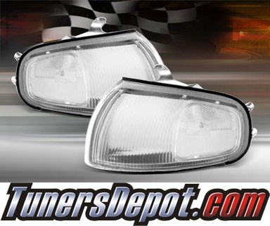 TD® Clear Corner Lights (Clear) - 95-96 Toyota Camry