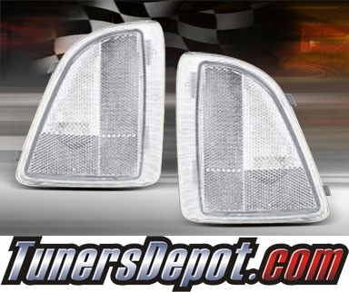 TD® Clear Corner Lights (Clear) - 95-97 GMC S-15 Jimmy