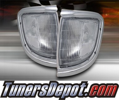 TD® Clear Corner Lights (Clear) - 95-97 Toyota Tacoma 4WD