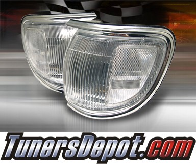 TD® Clear Corner Lights (Clear) - 96-98 Nissan Pathfinder