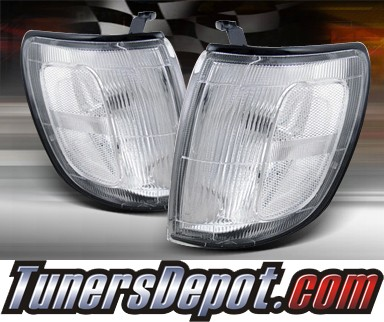 TD® Clear Corner Lights (Clear) - 96-98 Toyota 4Runner 4-Runner
