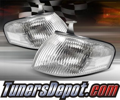TD® Clear Corner Lights (Clear) - 97-98 Mazda Protege