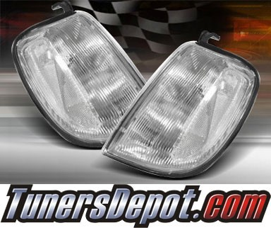 TD® Clear Corner Lights (Clear) - 98-00 Nissan Frontier Pickup