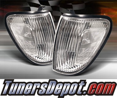 TD® Clear Corner Lights (Clear) - 98-00 Toyota Tacoma