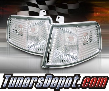 TD® Clear Corner Lights (Euro Clear) - 90-91 Honda CRX CR-X