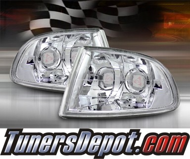 TD® Clear Corner Lights (Euro Clear) - 92-95 Honda Civic 2/3dr