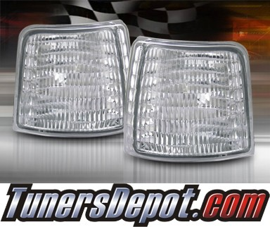 TD® Clear Corner Lights (Euro Clear) - 92-96 Ford Bronco