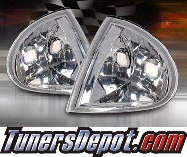 TD® Clear Corner Lights (Euro Clear) - 93-97 Honda Del Sol
