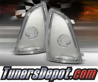 TD® Clear Corner Lights (Euro Clear) - 94-97 Chevy S-10