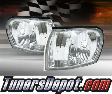 TD® Clear Corner Lights (Euro Clear) - 95-01 Subaru Impreza