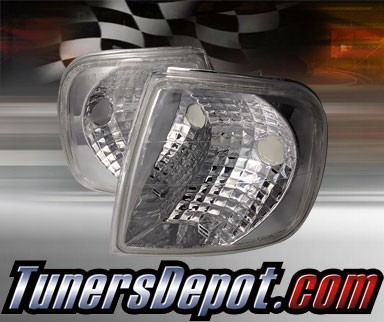 TD® Clear Corner Lights (Euro Clear) - 97-99 Ford F250 F-250