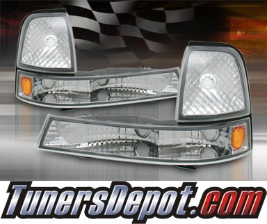 TD® Clear Corner Lights (Euro Clear) - 98-00 Ford Ranger