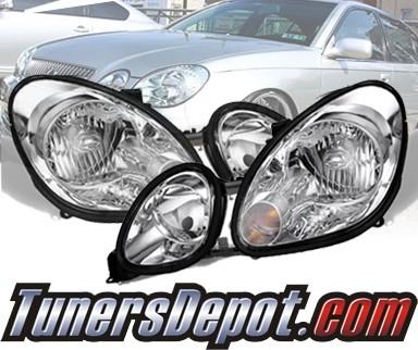 TD® Crystal Headlights   98 05 Lexus GS400