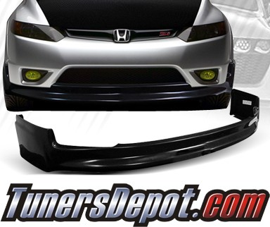 Td front bumper lip 06 08 honda civic 2dr mgn style lpf for Html td style