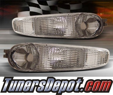 TD® Front Bumper Signal Lights (Clear) - 00-06 GMC Sierra Denali ONLY