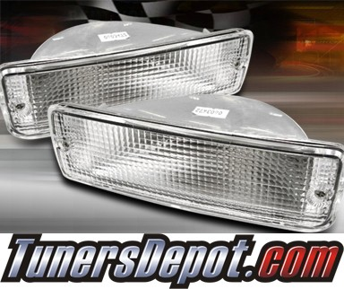 TD® Front Bumper Signal Lights (Clear) - 89-95 Toyota Pickup