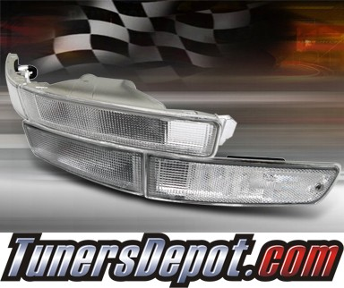 TD® Front Bumper Signal Lights (Clear) - 92-94 Toyota Camry