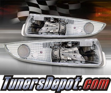 TD® Front Bumper Signal Lights (Clear) - 93-02 Chevy Camaro