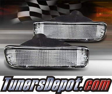 TD® Front Bumper Signal Lights (Clear) - 95-00 Toyota Tacoma 2WD