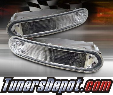 TD® Front Bumper Signal Lights (Clear) - 95-96 Dodge Avenger