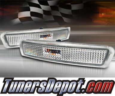 TD® Front Bumper Signal Lights (Clear) - 96-02 BMW Z3 Roadster