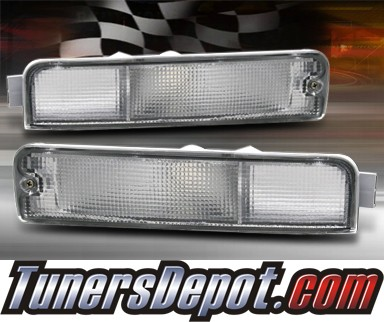 TD® Front Bumper Signal Lights (Clear) - 96-02 Nissan Pathfinder