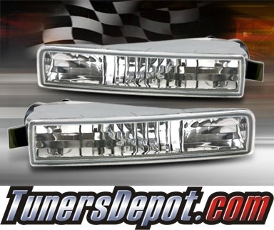 TD® Front Bumper Signal Lights (Clear) - 97-01 Honda Prelude