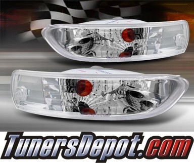 TD® Front Bumper Signal Lights (Euro Clear) - 03-05 Mitsubishi Eclipse