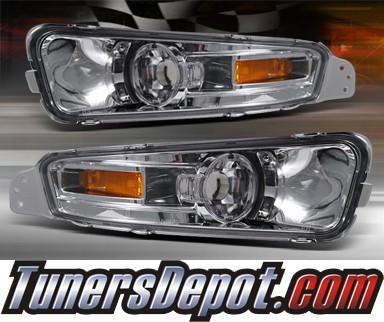 TD® Front Bumper Signal Lights (Euro Clear) - 05-09 Ford Mustang