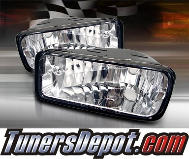 TD® Front Bumper Signal Lights (Euro Clear) - 85-92 Chevy Camaro