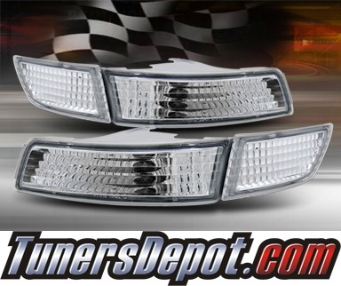 TD® Front Bumper Signal Lights (Euro Clear) - 91-95 Toyota MR2 MR-2