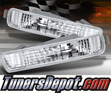 TD® Front Bumper Signal Lights (Euro Clear) - 94-95 Honda Accord