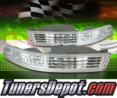 TD Front Bumper Signal Lights Euro Clear Acura Integra CBL - 1997 acura integra front bumper