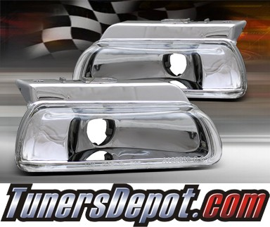 TD® Front Bumper Signal Lights (Euro Clear) - 95-99 Dodge Neon