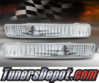 TD® Front Bumper Signal Lights (Euro Clear) - 96-97 Honda Accord